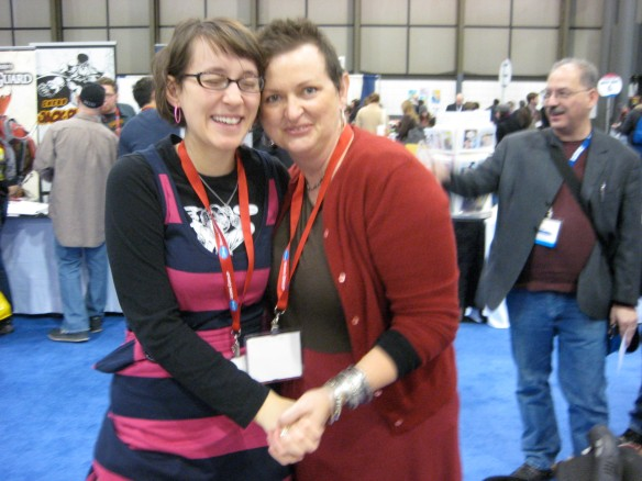 me and mama at comic con