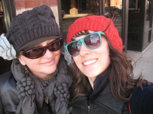 mama and me in our hats