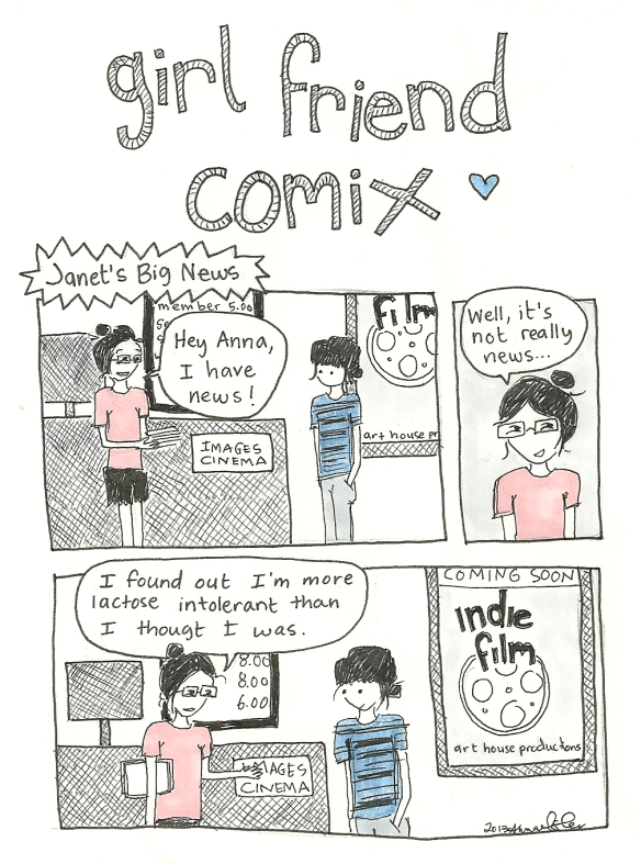 girl friend comix janet's news