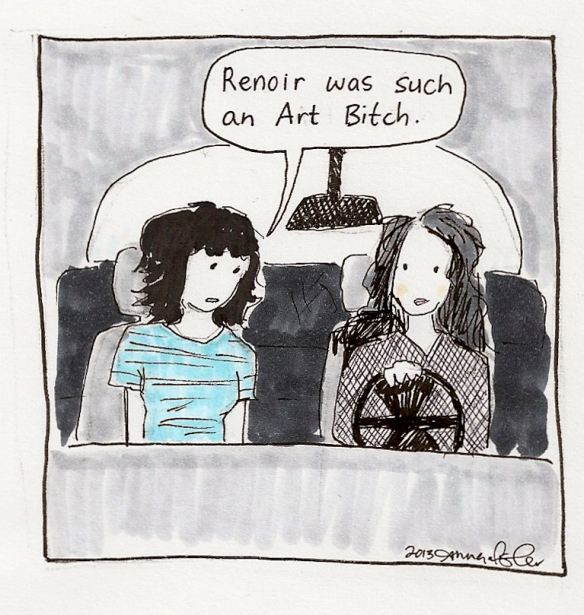 renoir art bitch