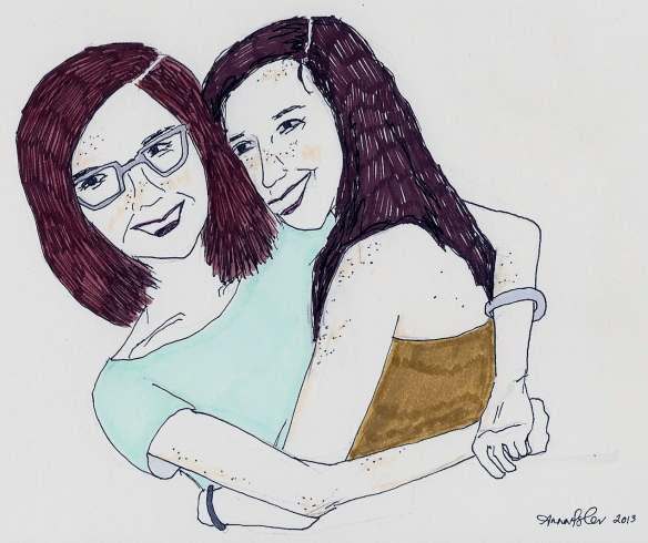 Amelia and Abby