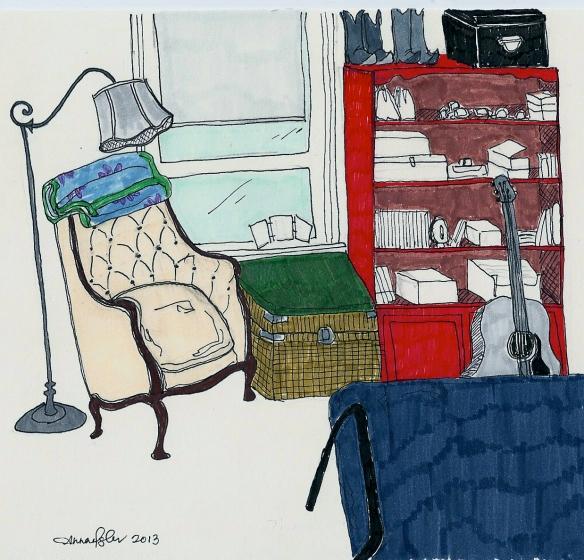 apartment drawing - thomas street