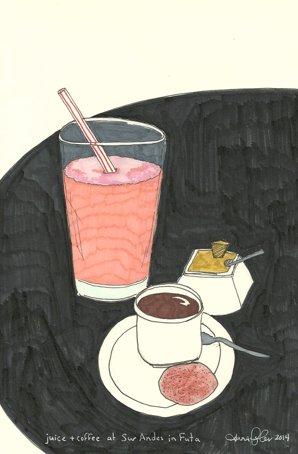 juice & coffee