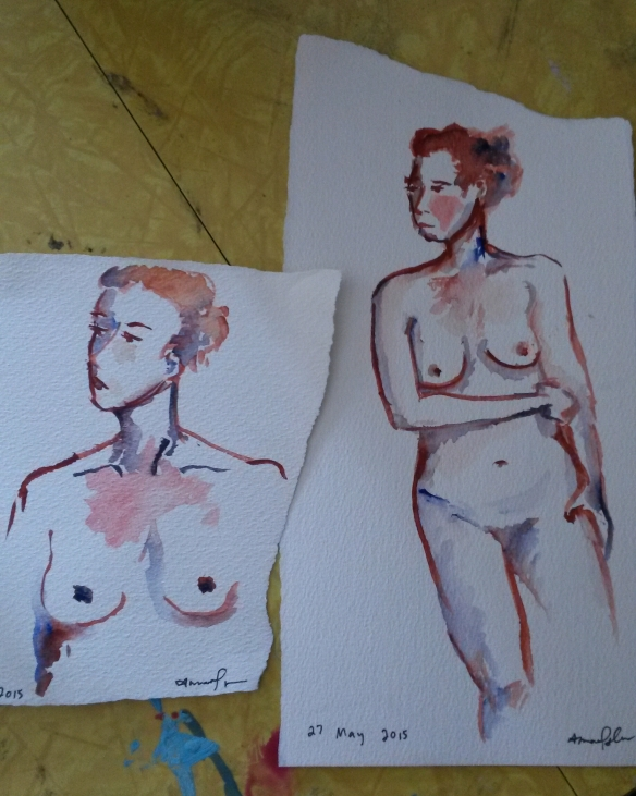 watercolor amandas