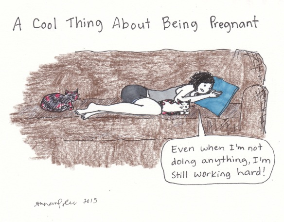 6 cool thing about being pregnant
