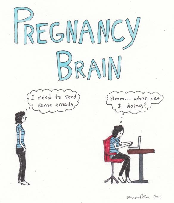 12 pregnancy brain