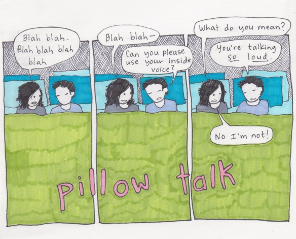 22 pillow talk