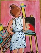 phoebe painting